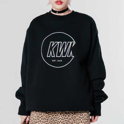 18 FW KWK Sweatshirt_Black