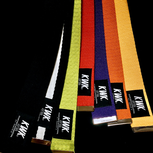 18 KWK Long Webbing Belt (7 Color)
