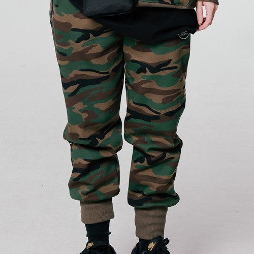 18 FW Basic Jogger Pants_Camo